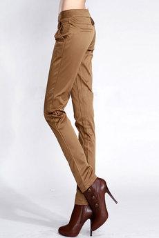 Коричневые женские брюки Kokette