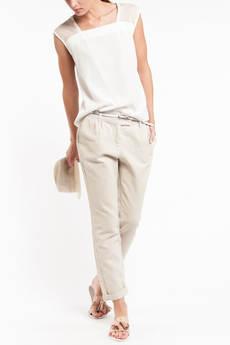 Летние льняные женские брюки TOM FARR